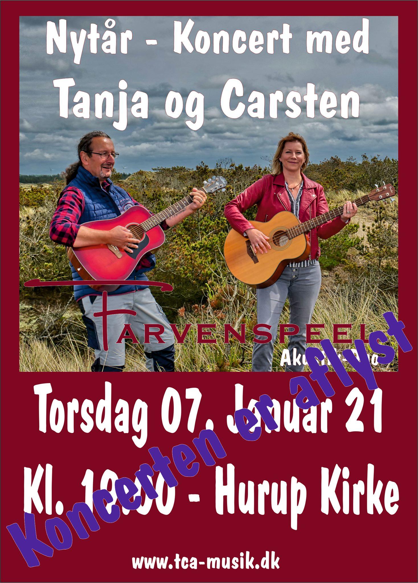 """Nytår-Koncert i Hurup """"AFLYST"""""""